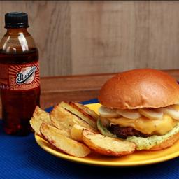 Combo 1: champignon + fritas + refrigera