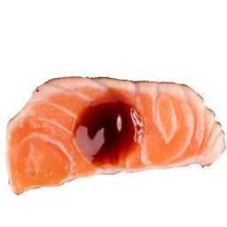 Sashimi Salmão ao Molho de Ostra (10 Peças)