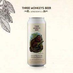 Three Monkeys Cupreus Lata 473ml