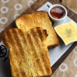 Brioche com Manteiga e Mel - 2 Fatias