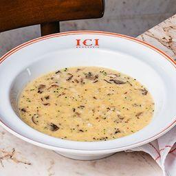 Risotto de Cogumelos - Ici Brasserie