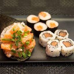 Combo Yuki (1 Temaki + 8 Sushis)