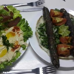 Prato Kafta ( Kababe ) para 2 pesoas