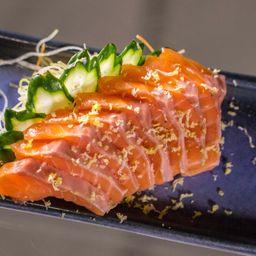 Sashimi de Barriga de Salmao