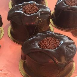 Bolinho Vulcão de Chocolate