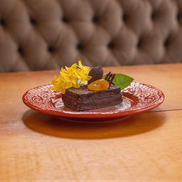 Torta de Chocolate com Damasco - 100g