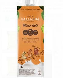 Alimento de Castanha Mixed Nutts 1L