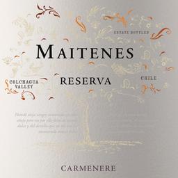 Vinho Chileno Maitenes Reserva Carmenere 750ml