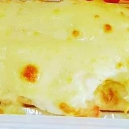 Hot Dog Simples com Cheddar Gratinado