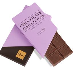 Tablete de Chocolate Zero Lactose  - 40g