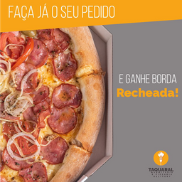 Pizza Grande com Borda Recheada