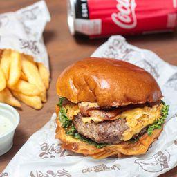 Promo: Burger + Batata + Sobremesa