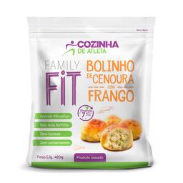 Bolinho de Cenoura com Frango - 420g