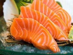 Sashimi de Salmão - 5 Unidades.