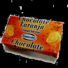Embaré chocolate laranja