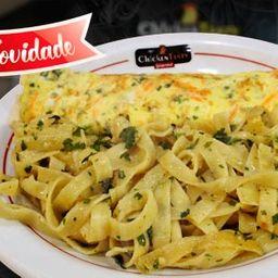 Omelete Chicken Talharim