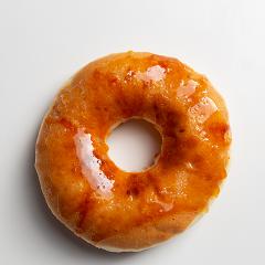 Donuts recheado com crème brûlée