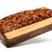 Bolo Inglês de Cenoura com Chocolate