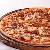 Pizza de Palmito à Bolonhesa