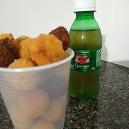 Copo G Mini Salgados + Refri Caçulinha