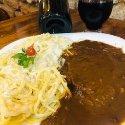 Carne Espaguete Bechamel