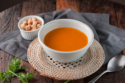 Sopa de Cenoura Mel e Gengibre
