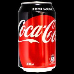 Coca cola sem açúcar 350ml