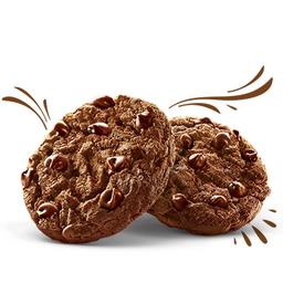 (4 unidades Cookie chocolate, chef Carole Crema 100g)