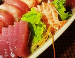 20 Sashimis ou 20 Sushis