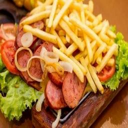Combo de calabresa + batata frita+