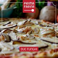 Pizza Due Funghi - família