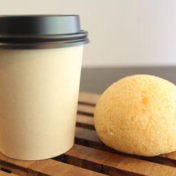 Combo Café Coado e Pão de Queijo 80g