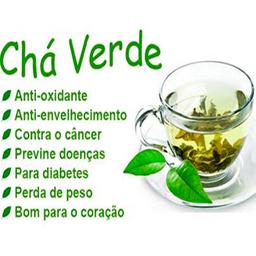 Chá Verde Importado - Pacote 50g