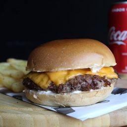 Combo Coca-cola Tio Cheese Burger