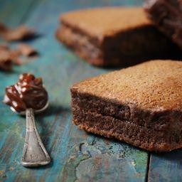 Brownies Recheados