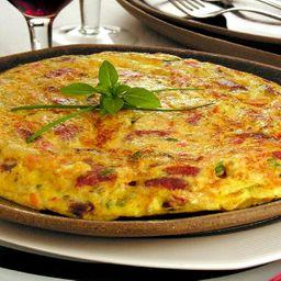 Omelete Calabresa