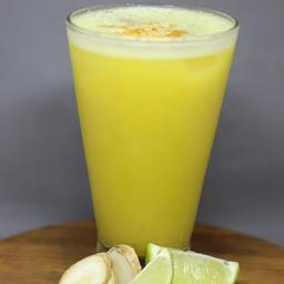 Suco de Maçã com Limão e Gengibre