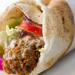 Kebab Shawarma de Falafel Vegetariano Vegano