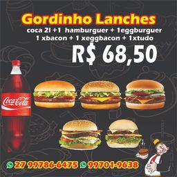 Combo- 5 hambúrguer