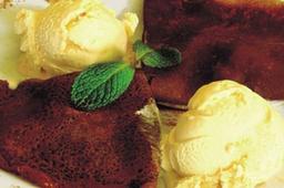 Crepe de Chocolate com Recheio de Nutella e Banana