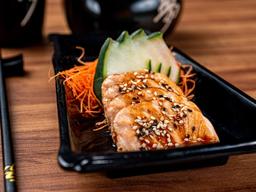 Sashimi de Salmão Grill - 4 Fatias