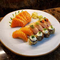 Combinado salmão - 15 peças