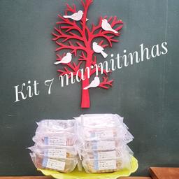 Kit com 7 refeições - 300g