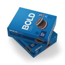 Bold Bar Cookies e Cream - 12 Unidades