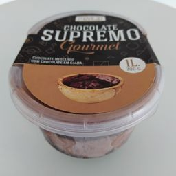 Sorvete de Chocolate Supremo Gourmet- 1L