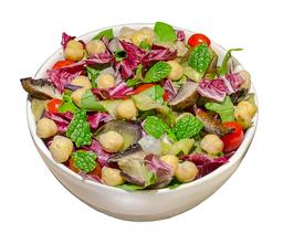 Salada Mediterrânea Vegetariana