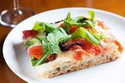 Pizza Mediterrânea Fatia Quadrada