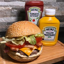 Nº1 - hambúrguer artesanal