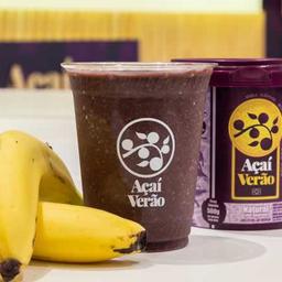 Suco Açaí Tradicional com Banana - 500ml