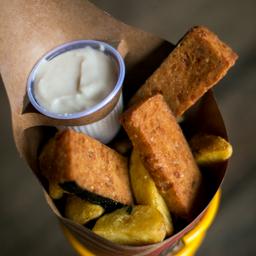 Fakie Fish & Chips Vegano!